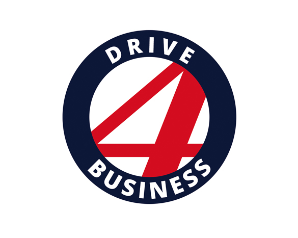 Projekt loga internetowego - drive 4 business