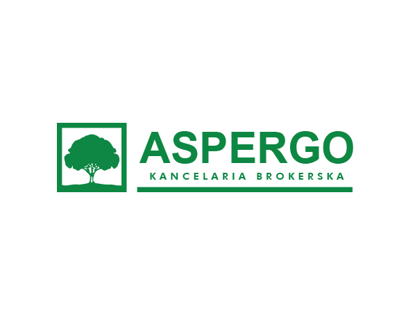 Aspergo projekt loga firmowego