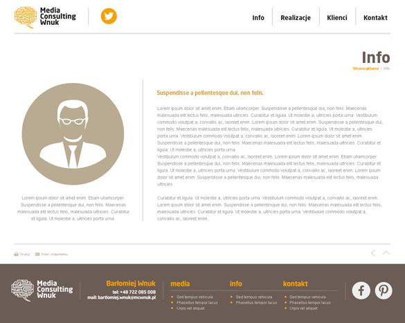 Media wnuk consulting - strona internetowa