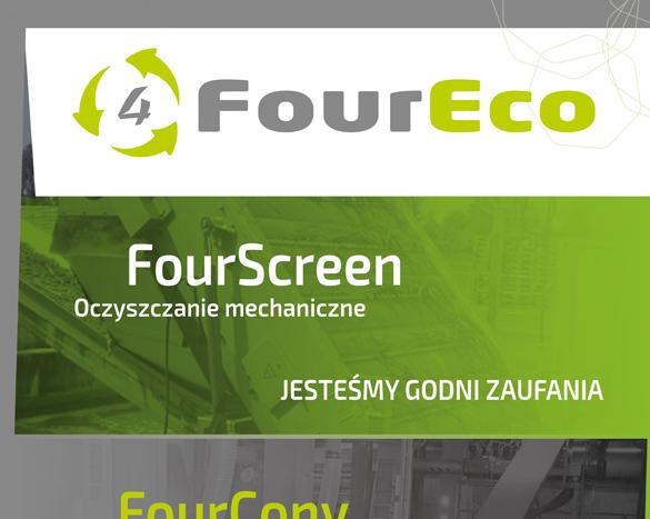 Strona internetowa dla four eco